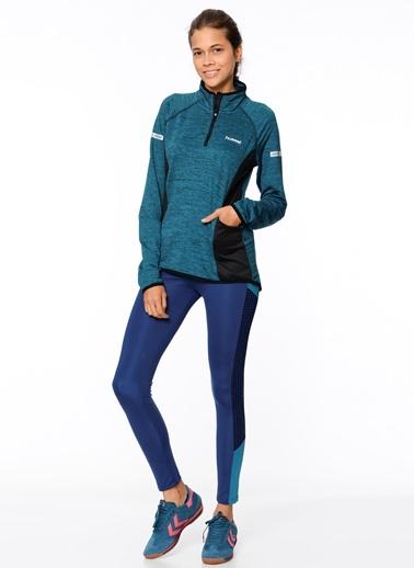 Fermuarlı Sweatshirt-Hummel